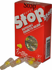 80 Packs Super Stop Cigarette Filter- Remove Tar &  Nicotine - Smoking Cessation