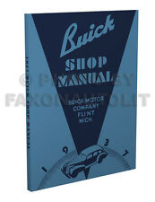 1937 Buick Shop Manual 37 Special Century Roadmaster Limited Repair Service Book
