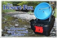 New listing Lowest Price Portable Desert Fox One Speed Gold Panning Machine! Find Gold!