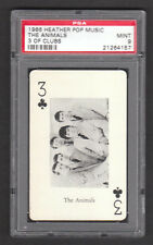 The Animals Eric Burdon 1966 Heather Pop Music Playing Card PSA 9 MINT