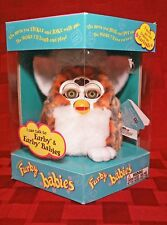 Furby Baby NIB (Sealed) Rare Orange Blue Leopard 1999