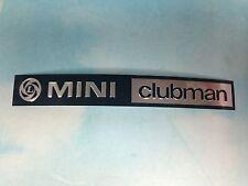 Classic MINI, AUSTIN MINI COOPER       MINI CLUBMAN FOIL REPLACEMENT