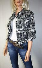 Cora Kemperman DESIGNER Blazer Jacket Size S Black White