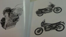 Moto Guzzi V1000G5 & 1000SP motorcycles genuine factory workshop manual.