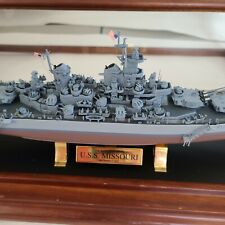 Franklin Mint Us Battleship Bb-63 Uss Missouri September 2, 1945 Diecast ship