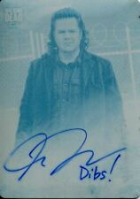 Walking Dead Hunters & Hunted Printing Plate Autograph Card Josh McDermitt