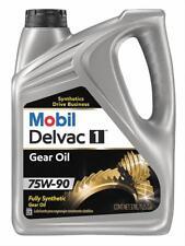 Mobil 1 122035-1 Gear Lube, Delvac Synthetic Gear Oil, 75W90, 1 Gallon, Each