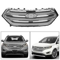 Replacement Front Upper Hood Bumper Grill for Ford Edge 2015-2018