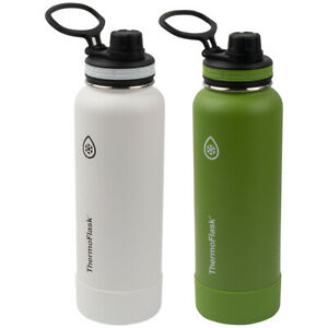 ThermoFlask Double Wall Vacuum Insulated Stainless Steel Water Bottles 40oz/1.2L