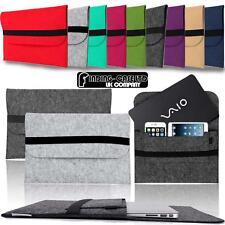 "Wool Felt Sleeve Case BAG For 11"" 12"" 13.3"" 14"" SONY VAIO Tablet Laptop Notebook"