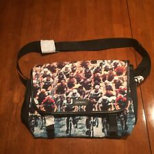 PS BY PAUL SMITH Messenger Bag Cycling Bike Print Brand New With Tags NWT $508