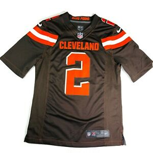 Cleveland Browns Jersey Small Manziel Nike On Field