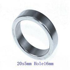 N38 Diameter 20mm x5mm Hole 16mm Ring Round Neodymium Permanent Magnets