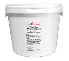 Muerto Mar Mineral Sales de Baño 10kg - 100% Sal Limpia Natural / Marina
