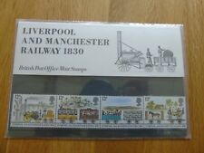Liverpool and Manchester Railway 1830 Presentation Pack