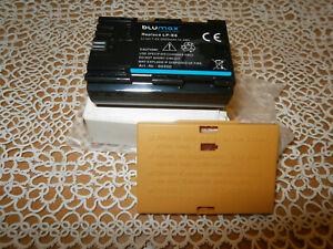 Original Blumax Akku für Canon LP-E6/LP-E6N 2000mAh 7,2V Li-Ion NEU OVP