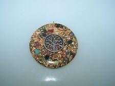 Baum des Lebens Amulett Orgon Medallion Orgonit Amulett Anhänger Orgonitanhänger