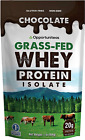 Chocolate Whey Protein Powder - Grass Fed Whey Isolate + Organic Cacao + Real Su