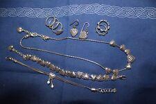 Brighton Heart Design Necklace, 2 Bracelets, 2 Rings and Shepherds Hook Earring