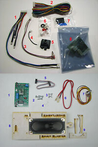 Wand + Sound upgrade kits for your Spirit Halloween Ghostbusters Proton Pack