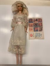 Vintage Barbie Doll 1967 Mattel Mod Platinum Blonde Talking Stacey #1125