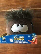 Club Penguin puffle. Black series 1. Jumbo Plush