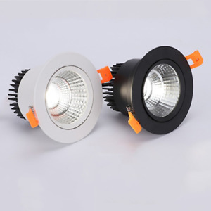 Super Bright Recessed LED Dimmable Downlight COB 3W 5W 7W 9W 12W 15W  LED