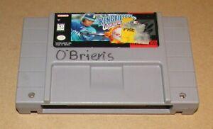 Ken Griffey Jr.'s Winning Run for Super Nintendo SNES Fast Shipping