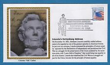 Colorano e1546 Abraham Lincoln Gettysburg Address Sesquicentennial Station Cover