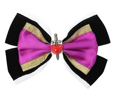 Disney Snow White EVIL QUEEN COSPLAY COSTUME HAIR BOW PIN CLIP Once Upon A Time