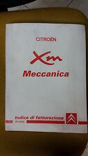 Manuale Originale CITROEN XM MECCANICA INDICE DI FATTURAZIONE Tempario anni '90