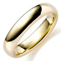 15,5mm Armreif Armband Armschmuck aus 585 Gold Gelbgold glatt glänzend, Damen