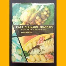 L'ART CULINAIRE FRANÇAIS Ali-Bab Escoffier Darenne Montagné Pellaprat 1958