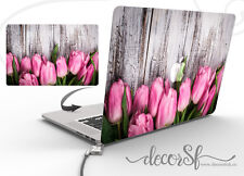 Tullips Design Wrap Skin Sticker for Macbook 13 Laptop Cover Decal