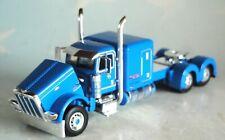 "DCP BLUE PETERBILT 389 WITH 63"" SLEEPER 1/64 60-0690 C"