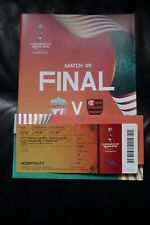 More details for liverpool v flamengo 2019 club world cup final programme and ticket