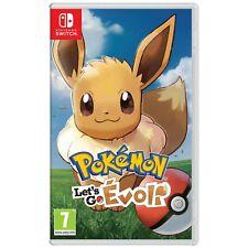Jeu Pokémon Let's Go Evoli NEUF Sous Blister Nintendo Switch
