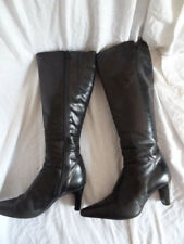 Size 3 Eu36 *JANE SHILTON* Smart black knee length boots