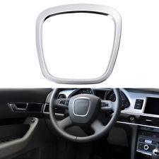 Aluminium Alloy Steering Wheel Cover Sticker Body Emblem Trim For Audi A3 A4 Q7