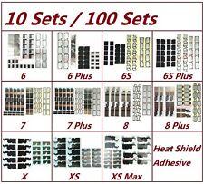 Lot Motherboard Logic Board Heat Shield Sticker For iPhone 6 6S 7 8 Plus X S Max