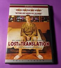 """New listing Lost in Translation (Dvd, 2004, Widescreen) """"Flat Out Hilarious!"""""""