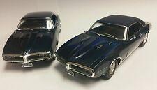 1:18 GMP ACME 1968 PONTIAC FIREBIRD AGENA BLUE  GUYCAST 250 REG & 50 VINYL TOPS