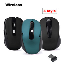 New 2.4GHz Wireless Mouse USB Optical Gaming Scroll Mice for PC Laptop Computer