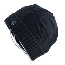 The Punisher Beanie Adjustable Knit Winter Hat Embroidery New Hip Hop Skull Cap