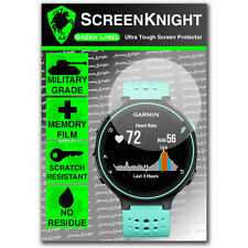 ScreenKnight Garmin Forerunner 235 SCREEN PROTECTOR invisible military shield