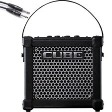 Roland Micro Cube GX Battery Powered Guitar Amplifier + 10' Instrument Cable
