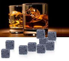 9PCS New Magic Whisky Cooling Stone Ice Cubes Rocks Cold Glacier Stones