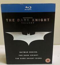 The Dark Knight Trilogy [Blu-ray Box Set Region Free Batman Begins Rises]