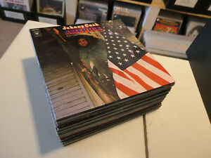 """COUNTRY-ROCK/ WESTERN: Johnny Cash etc., NICE LOT WITH 38 LP´S + 1x 2 LP/ 12"""""""