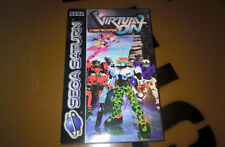 # virtual on Cyber Troopers-Sega Saturn juego-productos nuevos/new/sealed #